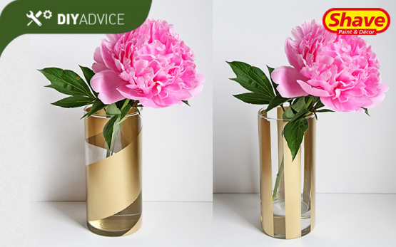 DIY_Gold-striped-Vases