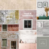 MEET OUR SPRING TRENDS – Worn and Weathered